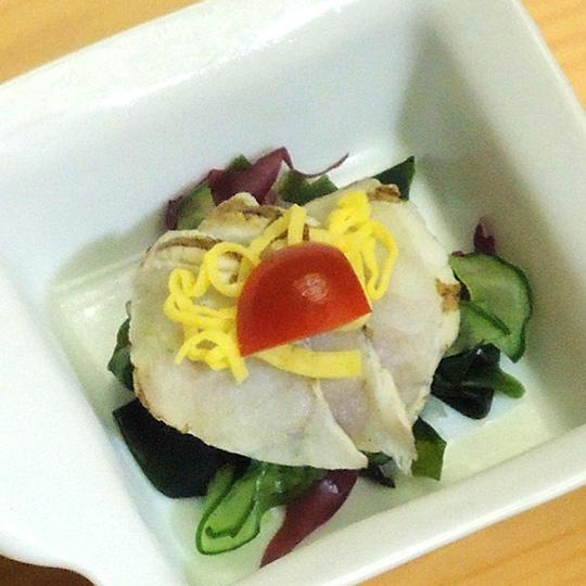 河豚たたきサラダ カルパッチョ仕立て
